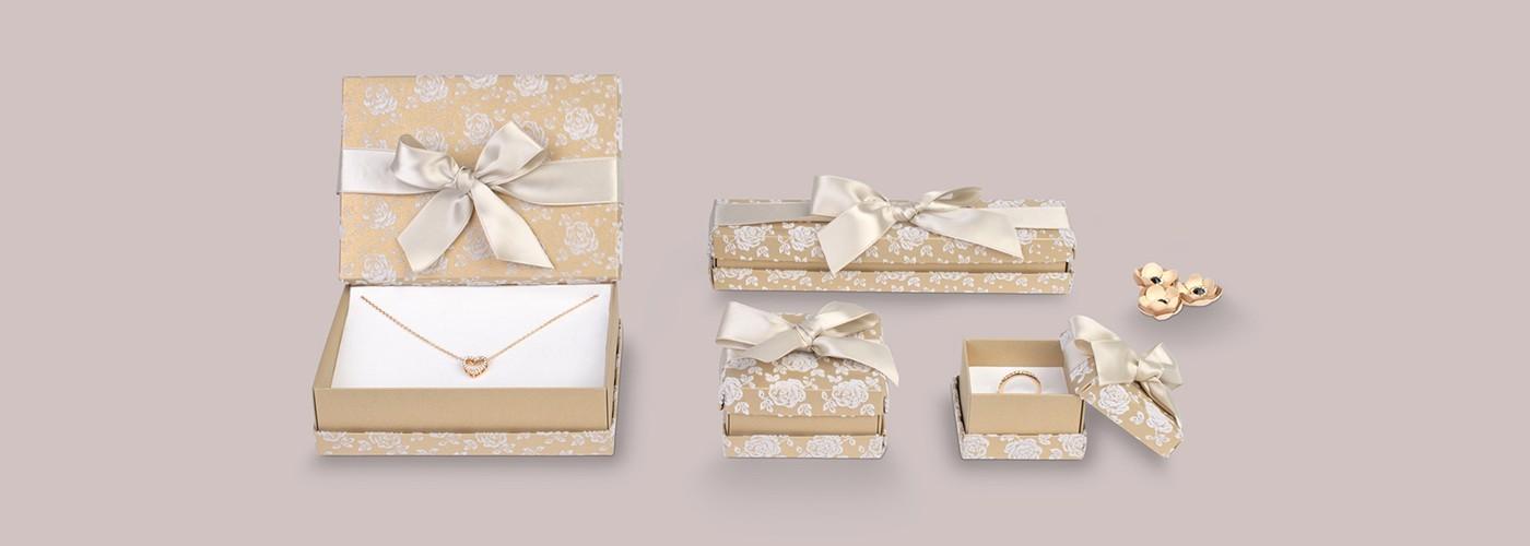 Cajas de cartón para joyería ★ Florencia Flock