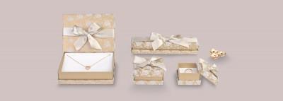 Cajas cartón joyería - Cajas Florencia Diseño Flock