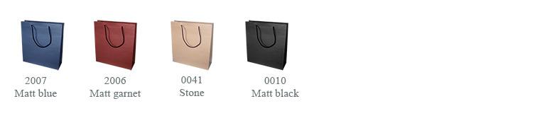 2007 matt blue, 2006 matt garnet, 0041 stone y 0010 matt black