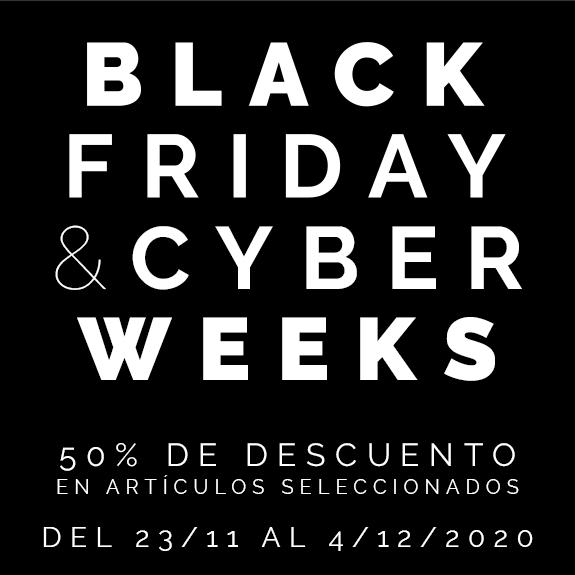 Black Friday - 50% descuento en productos seleccionados