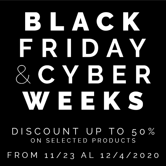 Black Friday - Discount up to 50% on selected products