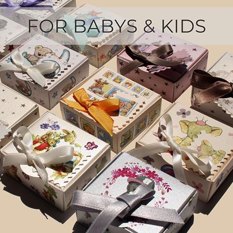 Babys & Kids jewellery packaging