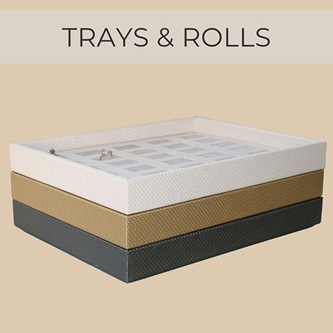 Trays & jewellery rolls
