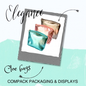 Our Cloe bags are a packaging modern and practical.This collections are perfect for packaging, storing or transporting all your jewelry. . . #compackpackaging #compackbags #jewelrypackaging #jewelrybags #packagingjoyeria #bolsasjoyeria
