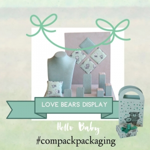 """Our kids collection """"Boxes, Bags and Displays', are perfect for those jewelers who like to take care of the youngest generation. . . #compackpackaging #kidsjewelerypackaging #kidsjeweleryboxes #kidsjewelerydisplays"""