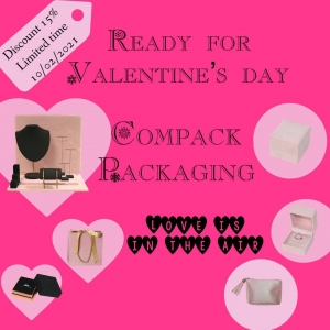 Ready for Valentine's day. Ask for information. The First 20 orders will have  special gift of this special day.. . . #compackpackaging  #compacksanvalentin #valentines_day #compackvalentinesday