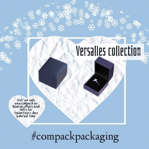 Versalles collection ready for Valentine's jewelry. . . #compackpackaging #compackestuches #compackboxes #valentinesdayboxes #estuchessanvalentin