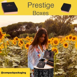 Prestige cartoon boxes are plenty of glamour. Manufactured with mad black paper and metallic pink gold paper is a very nice collection for all kind of jewellery . . . #compackpackaging #compackboxes #compackestuches #jewelryboxes #jewelrypackaging #estuchesjoyeria #cajasjoyeria