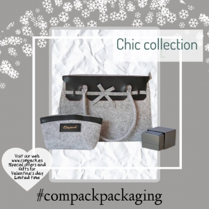 Our chic collection is perfect for all Jewellers who look for more than normall case. This bags will enhance all the jewellery who  contains and at the same time all your costumers will keep for many uses. . #compackpacakaging #compackbags #compacksanvalentin #sanvalentinpackaging #valentinesdaypackaging #valentinesdaybags