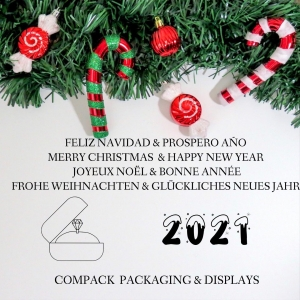 Merry Christmas & Happy New year 2021 . . #compackpackaging