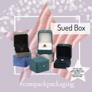 Suede boxes ready for the more exclusive jewelry. . . #compackpackaging #compackboxes #compackjewelryboxes #jewelryboxes #estuchesjoyeria #etuibijoux #astuccigioelli