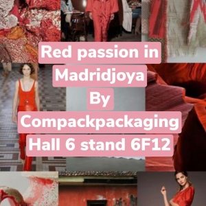 Compackpackaging introduce you last trendy colors at Madridjoya. Come to visit us. Don't miss it. ��🖤��🖤. . #compackpackaging #madridjoya #redpassion #trendycollections