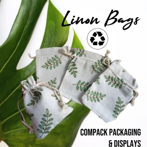 Pouches manufactured in Linon  100% Natural. . . #compackpouches #compackpackaging #bolsaslino #linonpouched #linonpochette #linonsachetti