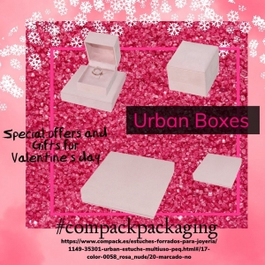 Urban collection is the perfect Packaging for those jewelers who think that each jeweler peace is a sample of love.. . .#compackpackaging #compackjewelryboxes #compackestuchesjoyeria  #jewelryboxes #estuchesjoyeria #joyassanvalentine #valentineday