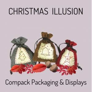 Christmas packaging is a good option to help maintain the traditions and illusions. . . #compackpackaging #compackchristmaspouches #packagingnavideño #christmaspackaging #natalesachetti
