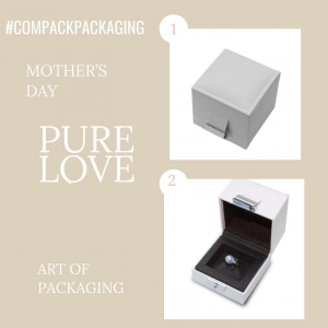 Monaco collection for those jewelers who likes the more exclusive packaging for special celebrations: Mother's day. . . #compackpackaging  #compackboxes #compackestuches #estuchesjoyeria #jewelryboxes #etuibijoux #astuccigioelli #mothersday #mothersdaygift
