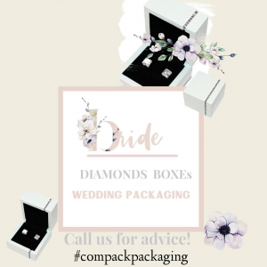 Weeding boxes are perfect for those jewelers who like to pack their jewelry with an elegant collection. . . #compackpackaging #compackboxes #compackestuchesboda #jewelryboxes #jewelryweddingboxes #etuibijoux #astuccigioelli