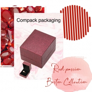 Red passion!! Compack always ready with our Boston collection for the jewelry more exclusive. . . #compackpackaging #compackbostoncollection #jewelrypackaging #jewelryboxes #estuchesjoyeria