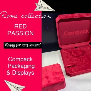 Rome collection is perfect for the new seasons coming. This boxes are recovered with red velvet. Perfect for dressing all your jewelry. . . #compackpackaging #compackboxes #jewelryboxes #jewelrypackaging #estuchesjoyeria #etuibijoux