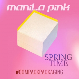 Manila collection is a perfect Packaging  for the jewelry given during Spring and Summer time. . . #compackpackaging #compackboxes #jewelryboxes #estuchesjoyeria #astuccigioelli #etuibikoux