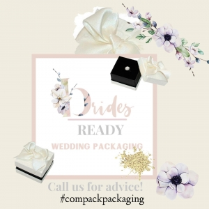 Are you ready for wedding celebrations? We have the best packaging in order that your jewelry look gorgeous. . . #compackpackaging #compackestuchesbodas #estuchesbodas #estuchesalianzas #weddingjewelryboxes