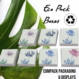 Eco Pack collections for those Jewelers who love Nature. . . , #compackpackaging #ecojewelrypackaging #compackboxes #ecoestuchesjoyeria #ecocajasjoyeria