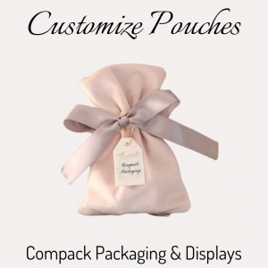 Pouches su misura is always a good option for packing all your jewelry peaces. All your costumer will keep them for travelling, saving whatever for many uses. . #compackpouches #compackjewelrybags #compackpochet #jewelrybags #bolsasjoyeria #sacsbijoux