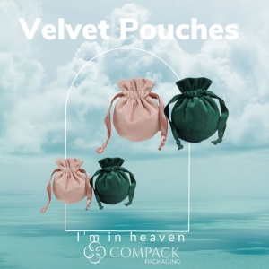 Velvet pouches ready for the more exclusive jewelers. . . #compackpackaging #velvetpouches #velvetlovers