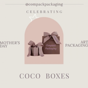 Coco collection boxes for all this jewelers who understand than Mother's day should be unforgettable day. . . #compackpackaging #compackboxes #compackestuches #mothersdaypackaging #mothersdaygifts