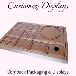 Design your own displays and all your jewelry will shine with their own light. . . #compackdisplays #compackescaparatismo #escaparatesjoyeria #jewelrydisplays